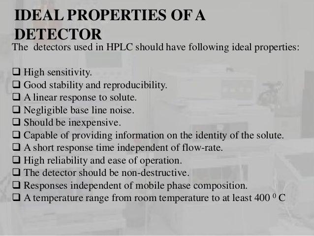 Detectors used in HPLC Slide 3