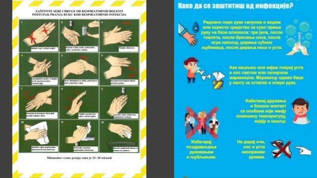 2. Који је најбољи начин да се заштитите од вируса? А)често перите руке водом,сапуном или неким од дезинфекционих средстав...