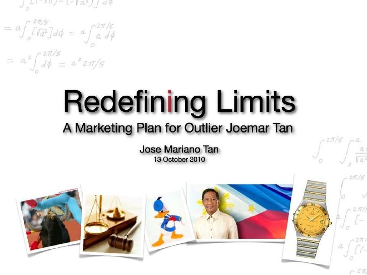 20 Year Marketing Plan of Outlier Dr. Joemar Tan