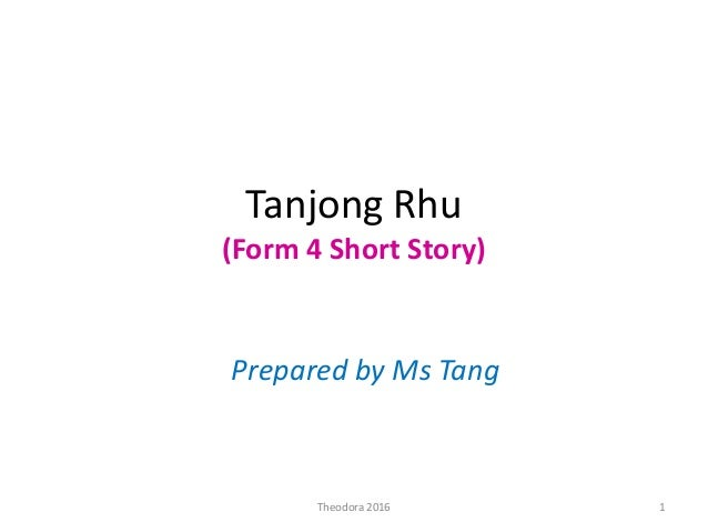 essay novel tanjung rhu