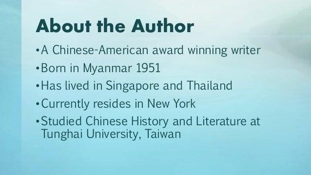 Tanjong rhu short story synopsis