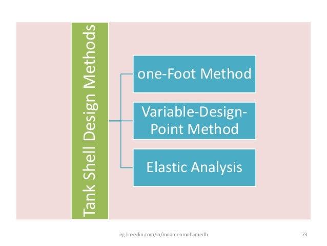 Tank design - powerpoint slides