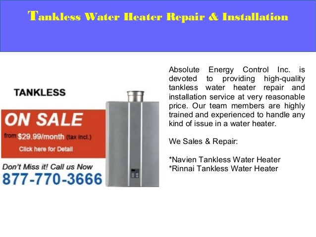 Water Service Installation : Tankless water heater repair and installation service hamilton