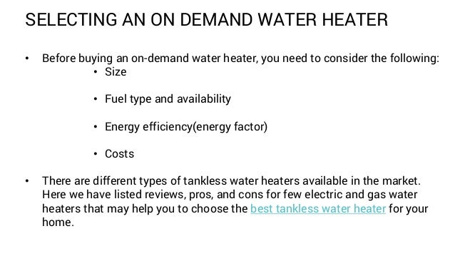tankless water heater and shower 4 - Electric Tankless Water Heater Reviews