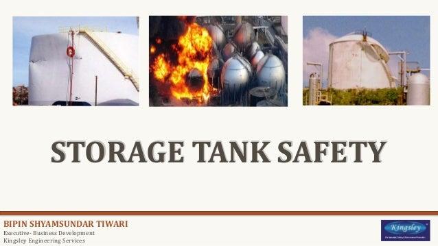 Storage Tank Safety