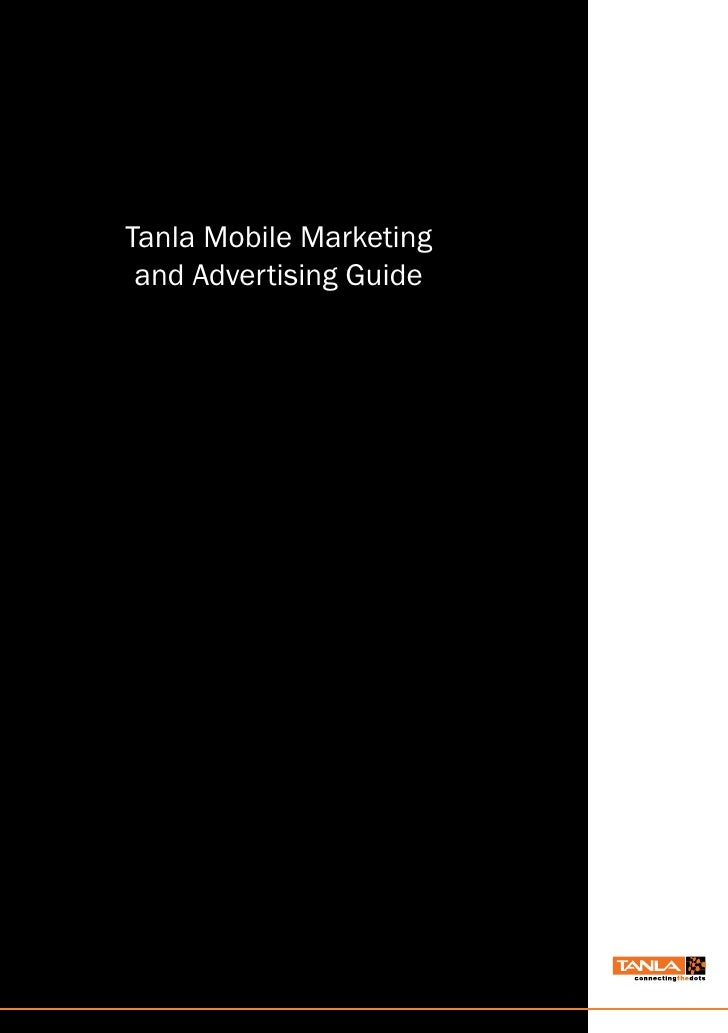 Tanla Mobile Marketing  and Advertising Guide