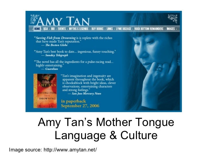 tan mother tongue amy tan s mother tongue language culture image source