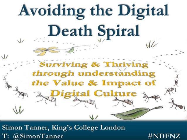 Today's Agenda! Why am I here? The Digital Death Spiral (duh, dah, daaah)  Avoiding the Death Spiral Impact – understandin...