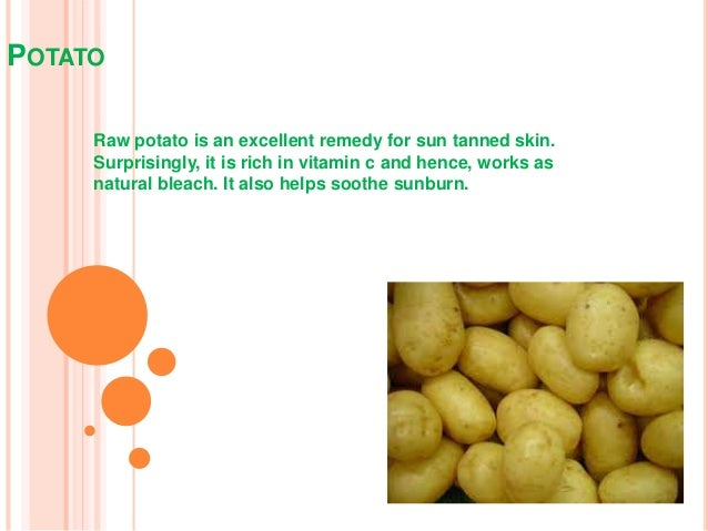 Natural Tan Removal Home Remedies