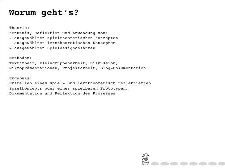 "Wey-Han Tan: Seminareinfuehrung ""Spielend Lernen?"", WS2011 Slide 2"