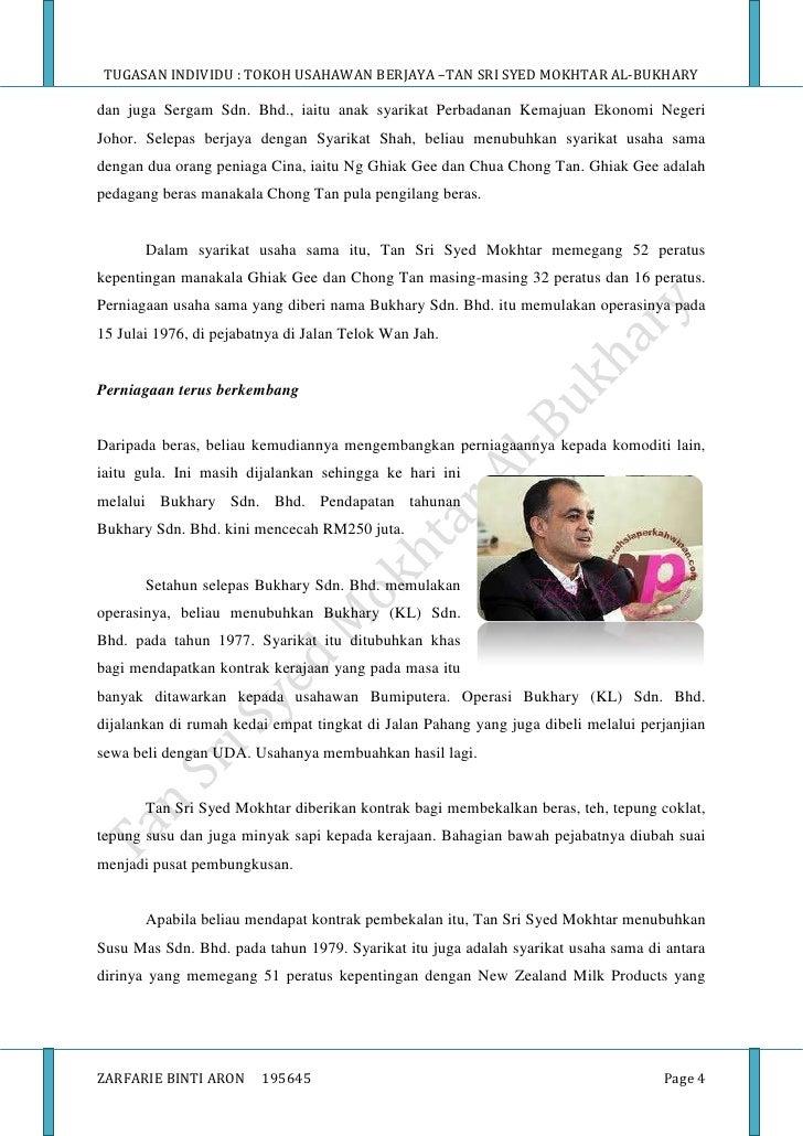 syed mokhtar al bukhary Blog ini memaparkan rahsia kejayaan usahawan malaysia blog ini juga merupakan tugasan individu saya bagi subjek bpme2013 kemahiran dan gelagat keusahawanan di universiti utara malaysia.