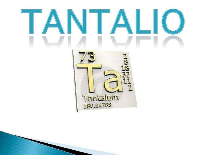 Tantalio<br />