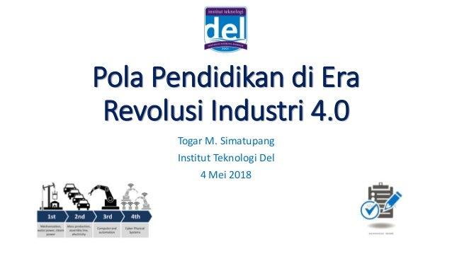 Tantangan Pendidikan Di Era Industri 4 0