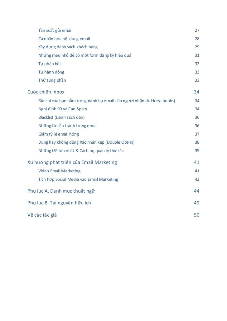TẤT TẦN TẬT VỀ EMAIL MARKETING  Slide 3