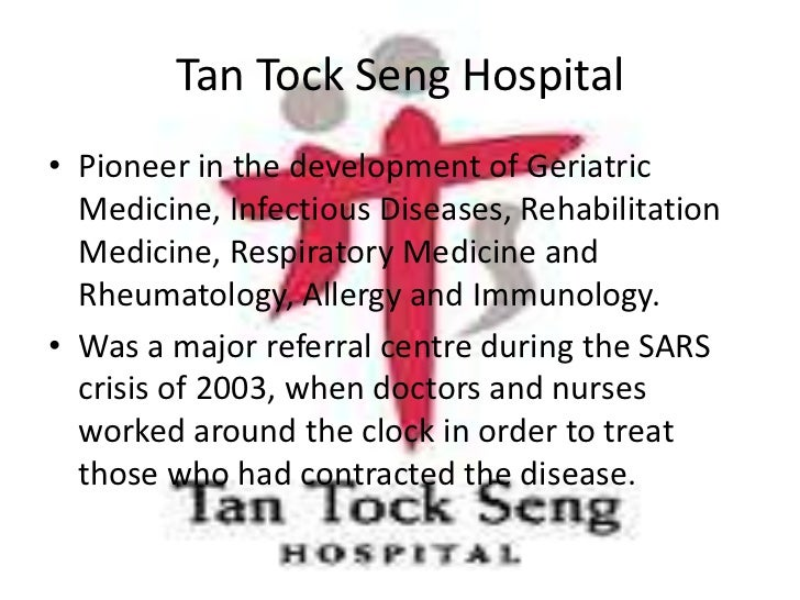 tan tock seng Tan tock seng hospital novena (central) login to view salary you will play an active role in the overall management of the ttsh community fund in the areas of conceptualization and implementation of fundraising.
