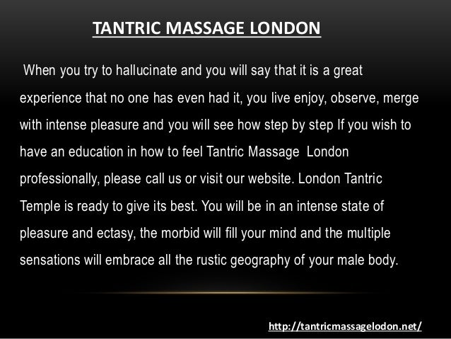 Tantric Massage London Unique Art Of Intimacy And Touch