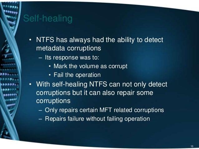 Ntfs vs fat - Rebuild file allocation table ...