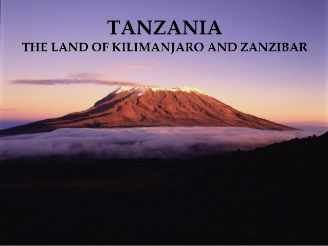 1. Why Tanzania?2. Attractions3. Why RoadScholar?                      2