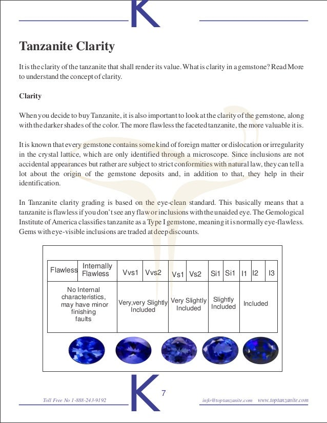 tanzanite on value jewelry natural gemstones price loose importance of tips cloudy wholesale