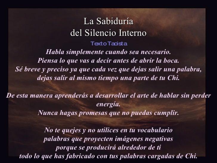 La Sabiduría Del Silencio Interno Thegaru