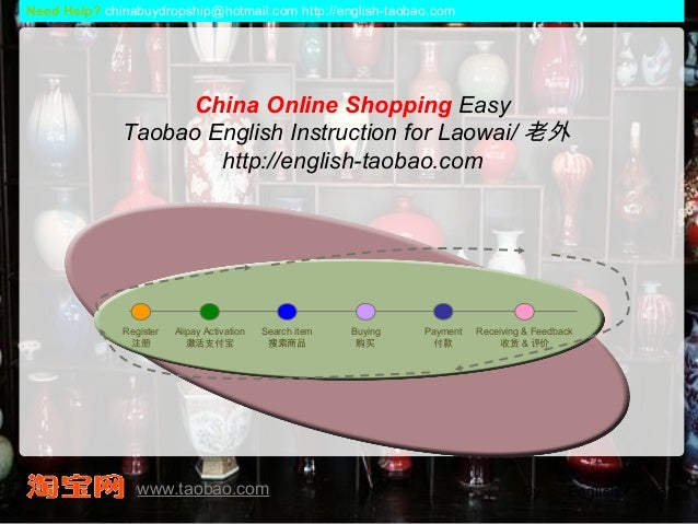 China Online Shopping Easy Taobao English Instruction for Laowai/ 老外 http://english-taobao.com By : English Taobao Registe...
