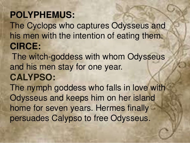 What Is A Summary Of Quot The Adventures Of Odysseus