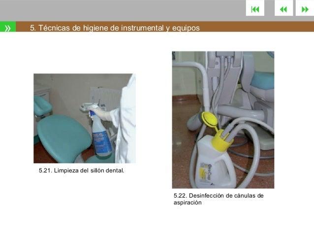 Tema 5 desinfecci n y esterilizaci n Limpieza y desinfeccion de equipos