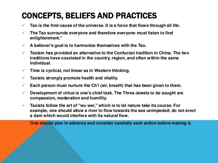 The Fundamental Beliefs: How is Taoism Different from Buddhism