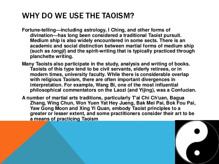 the practice of taoism in china and the concept behind it Yin and yang the influence of taoism in communist china  its central concept is qi, life force if a person is to remain healthy, the qi must be able to flow freely through his or her body .