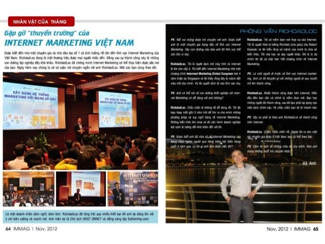 Bản chuẩn - Tạp chí Internet Marketing số 1