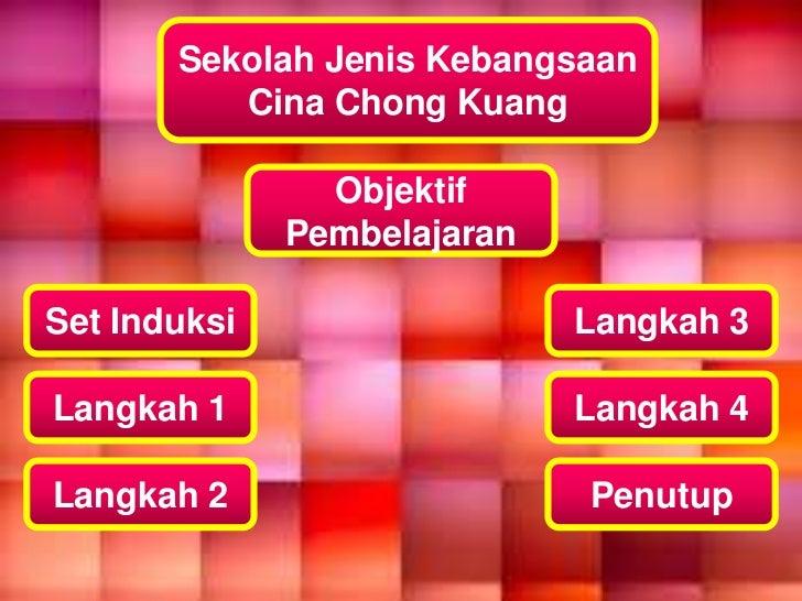 Sekolah Jenis Kebangsaan          Cina Chong Kuang                Objektif              PembelajaranSet Induksi           ...