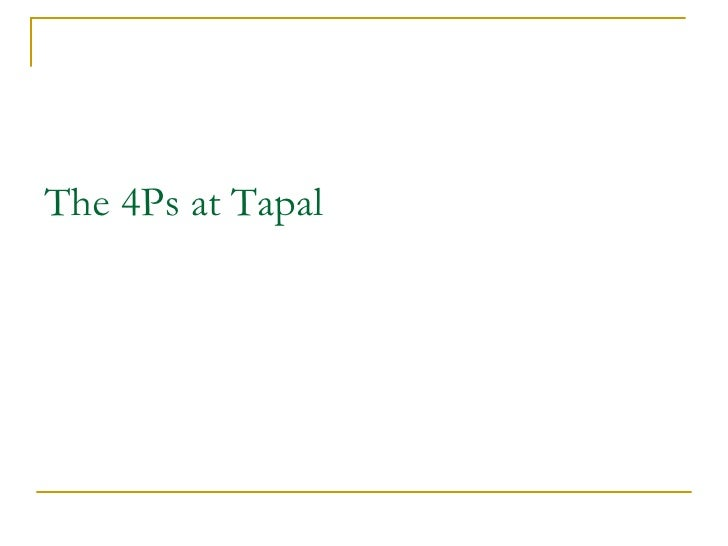 Tapal tea pvt limited report