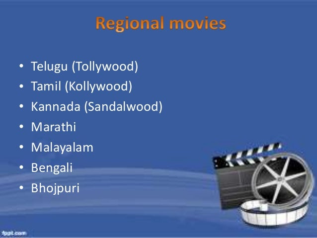 • In India Hindi movie mostly works in tier 1 & 2 Cities.  • Most of the state prefer their regional language  movies to s...