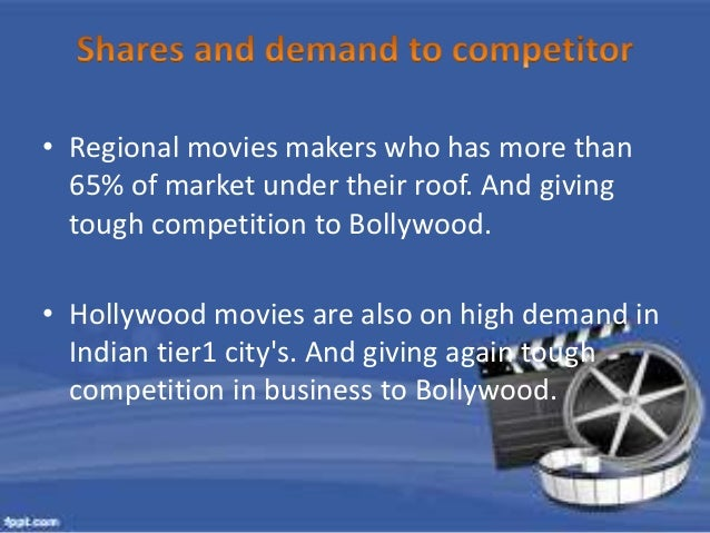 • Bollywood is the maximum  movie producer in a year  1000+ movies approx. and  Hollywood produce 600+  movies per annum a...