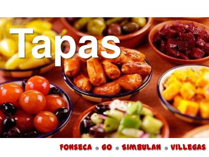 Tapas  Fonseca   Go   Simbulan   Villegas