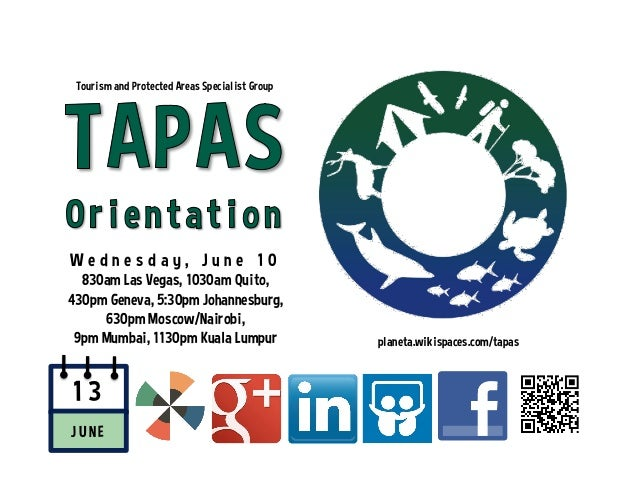 TAPAS (Tourism and Protected Areas Specialist Group)