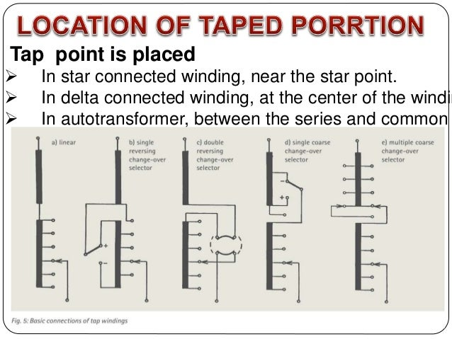 tap changer transformer tap changer theory at Transformer Taps Diagram