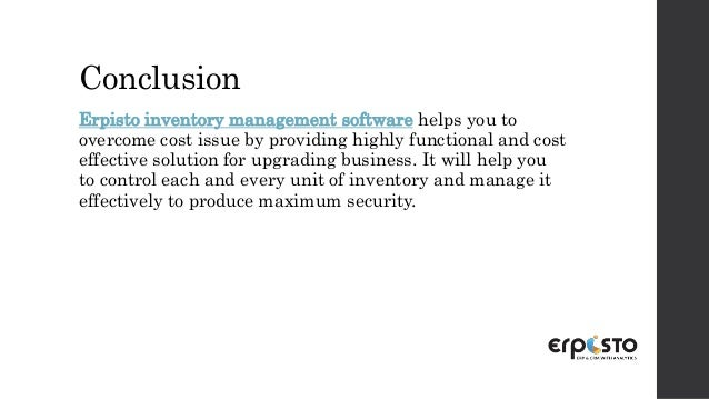 Taper off your business cost using inventory management software