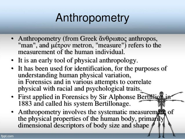 research papers on forensic anthropology I am doing a career research paper on forensic anthropology, and would like to ask an actual anthropologist some questions what do you do on a typical.