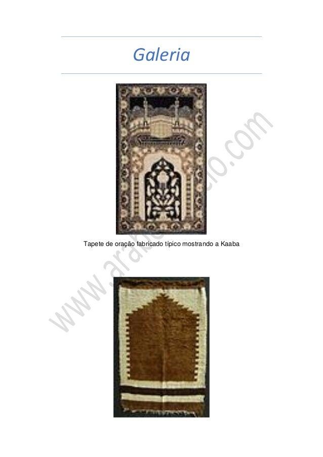 Galeria Tapete de oração fabricado típico mostrando a Kaaba