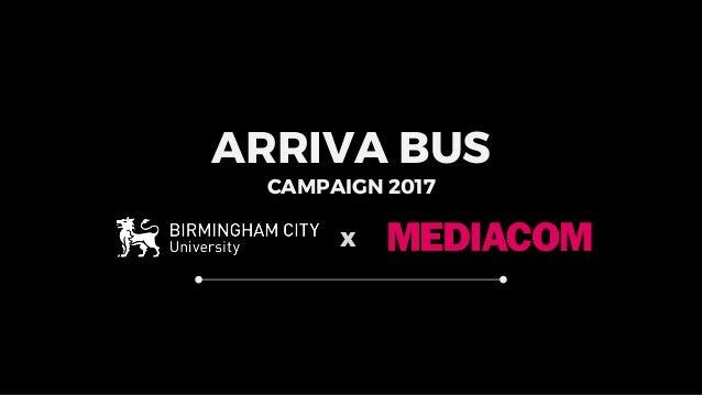 ARRIVA BUS CAMPAIGN 2017 x