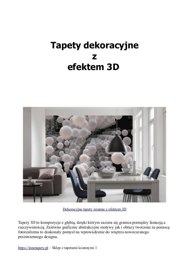 Tapety Z Efektem 3 D