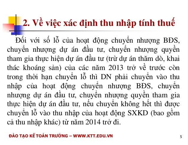 Cc Thu TP. H Chí Minh  HNG DN  N I DUNG MI SA