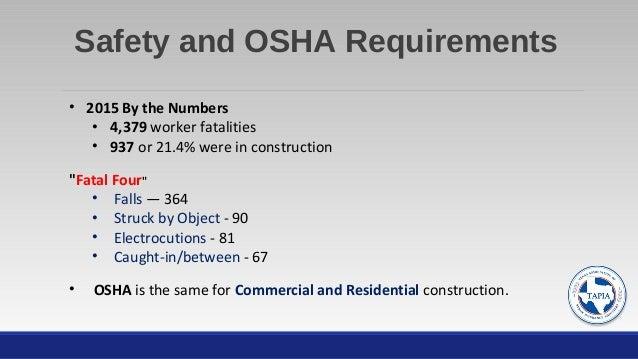 Osha A Strategic Partner For Residential Amp Commercial Pa S
