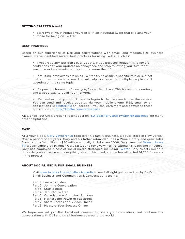Tap Into Twitter - Social Media Guide