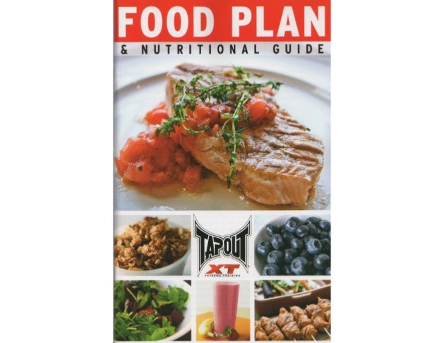 tapout xt food plan rh slideshare net tapout xt2 nutrition guide pdf tapout nutrition guide pdf español