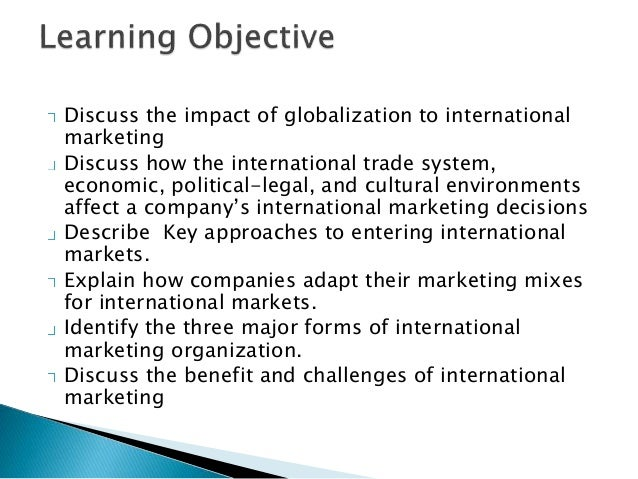 Tapping into global market new Slide 2