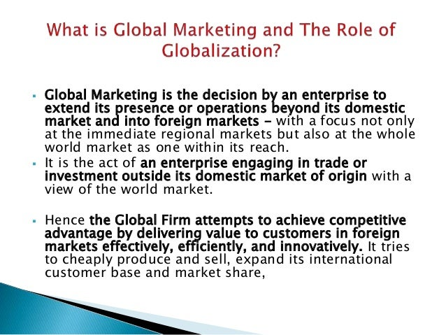 Tapping into global market new Slide 3