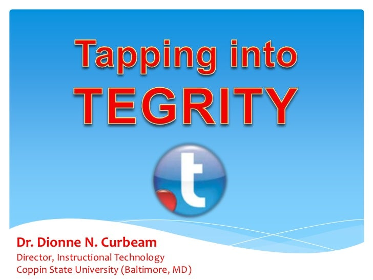 Dr. Dionne N. CurbeamDirector, Instructional TechnologyCoppin State University (Baltimore, MD)