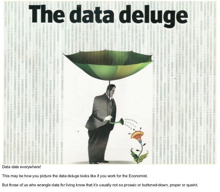 Tapping the Data Deluge with R Slide 2